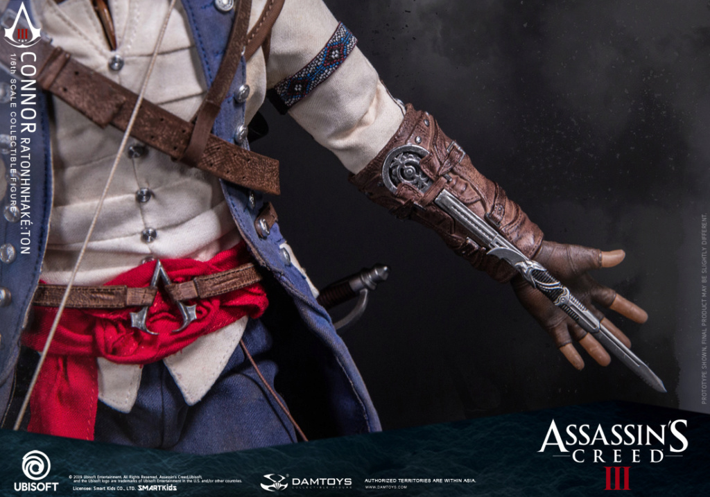 "Videogame - NEW PRODUCT: DAMTOYS: 1/6 Ubisoft classic game ""Assassin's Creed III"" - Connor movable doll DMS010 12213810"