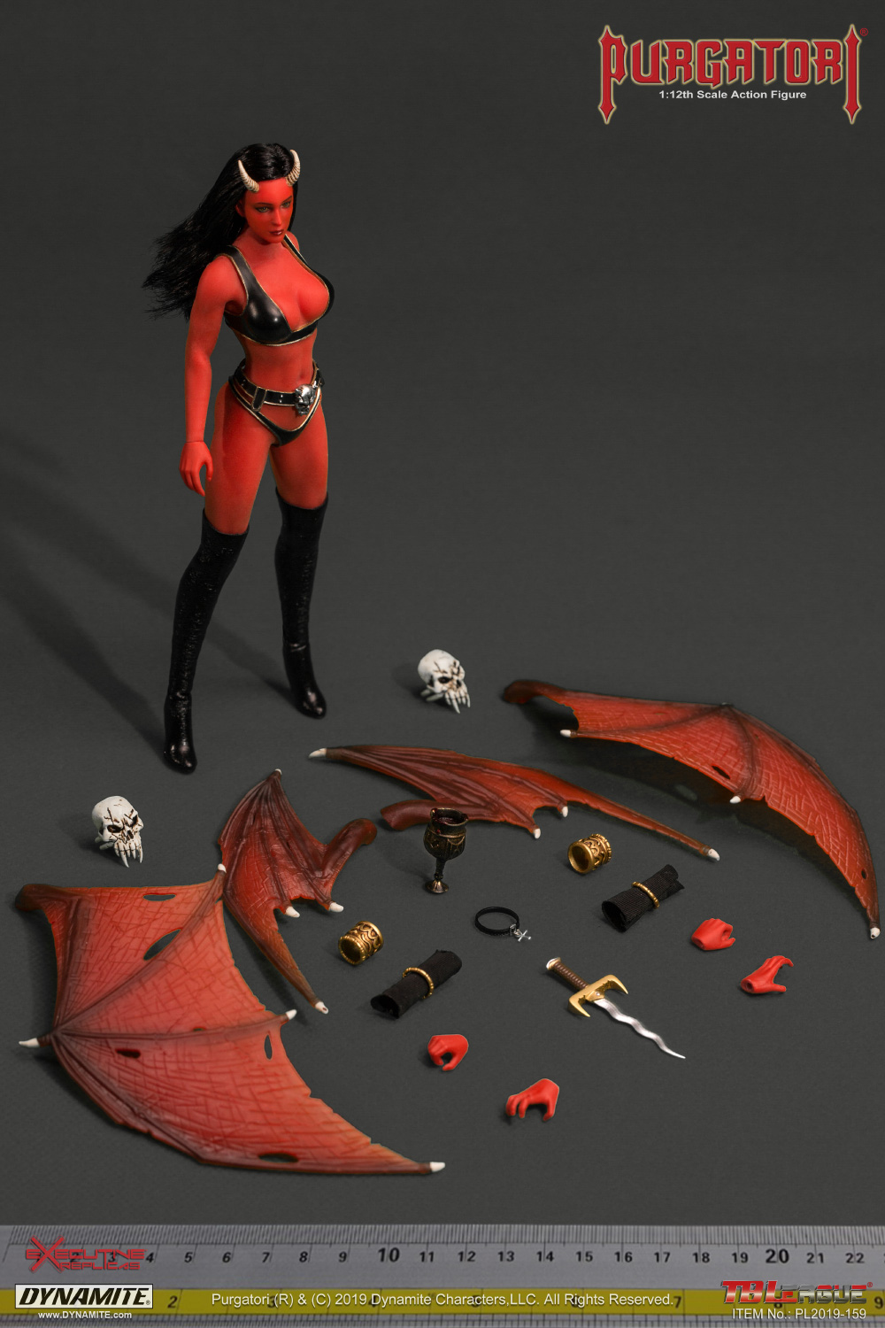 NEW PRODUCT: TBLeague: The first 1/12 movable doll - Arkhalla Queen / Bloodsucking Queen (PL2019-142) 12215010