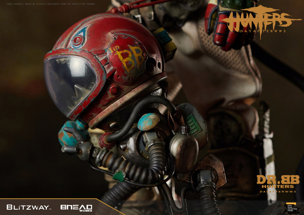 Robot - NEW PRODUCT: Blitzway: 1/6 scale HUNTERS : Day After WWlll: Dr.BB Action Figure 12221