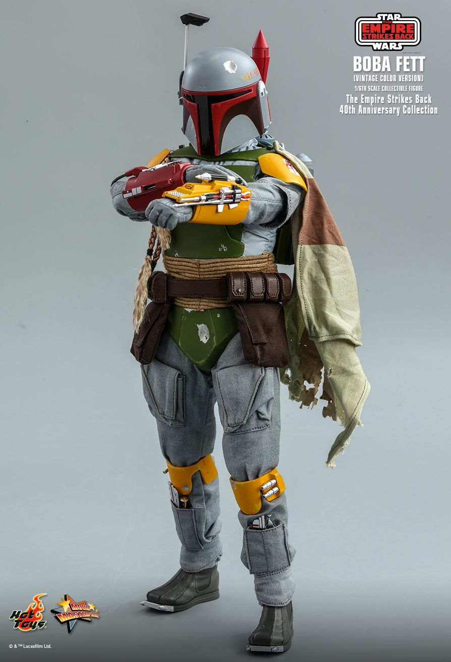 sci-fi - NEW PRODUCT: HOT TOYS: STAR WARS: THE EMPIRE STRIKES BACK™ BOBA FETT™ (VINTAGE COLOR VERSION) (40TH ANNIVERSARY COLLECTION) 1/6TH SCALE COLLECTIBLE FIGURE 12232