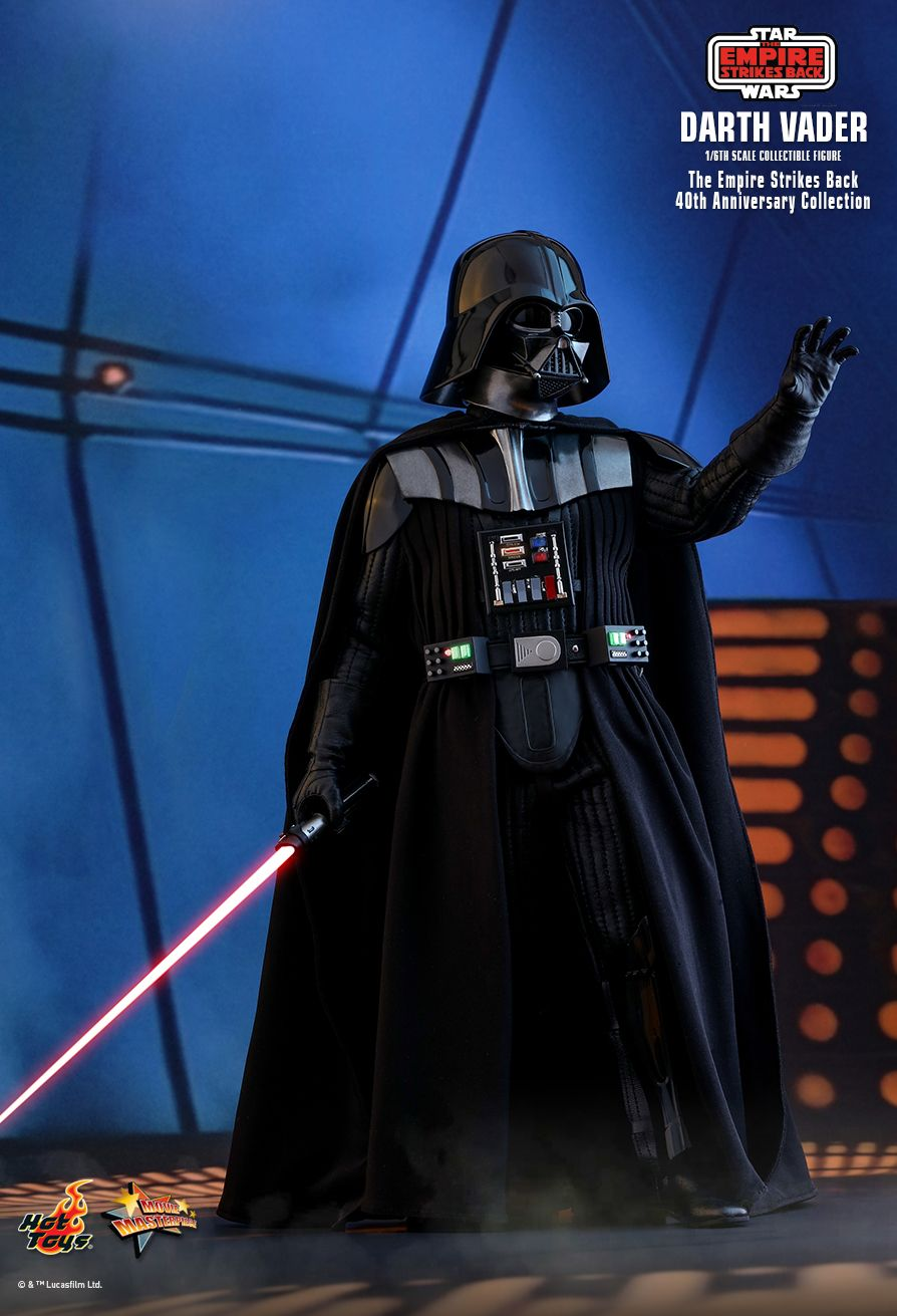 40thAnniversaryCollection - NEW PRODUCT: HOT TOYS: STAR WARS: THE EMPIRE STRIKES BACK™ DARTH VADER™ (40TH ANNIVERSARY COLLECTION) 1/6TH SCALE COLLECTIBLE FIGURE 12233