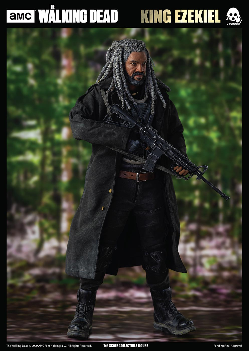 walkingdead - NEW PRODUCT: Threezero: The Walking Dead – 1/6 King Ezekiel 12254