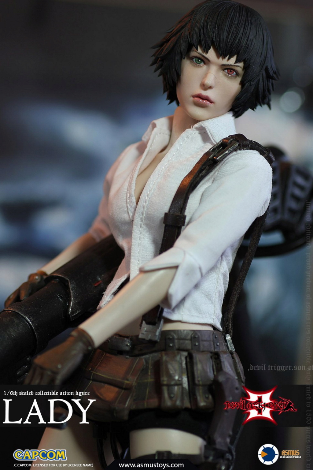 NEW PRODUCT: Asmus Toys: 1/6 Devil May Cry3/DMC3/Devil May Cry 3 - Lady/Lady (DMC302) 12265610