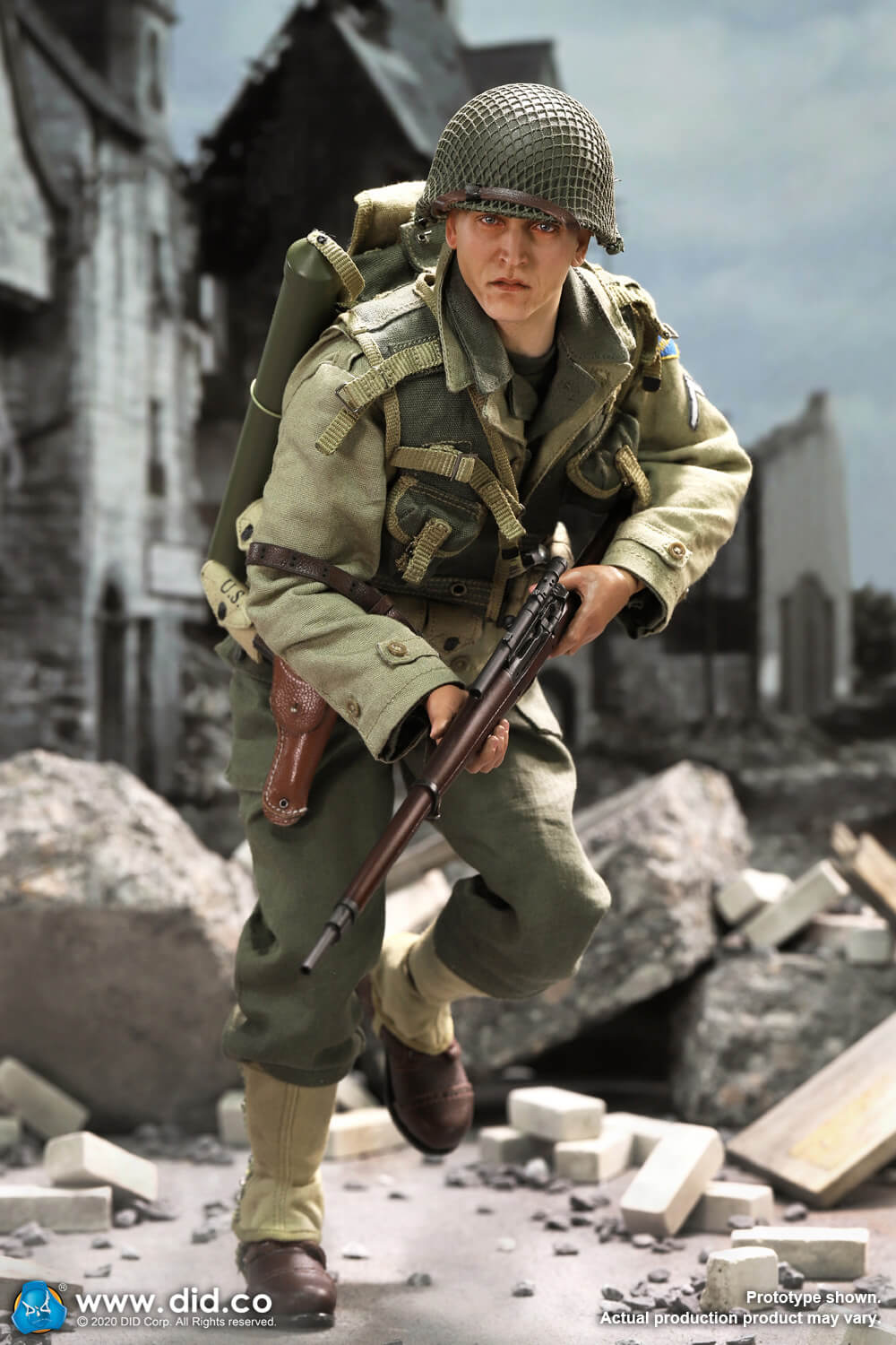 DiD - NEW PRODUCT: DiD: A80144 WWII US 2nd Ranger Battalion Series 4 Private Jackson 12280