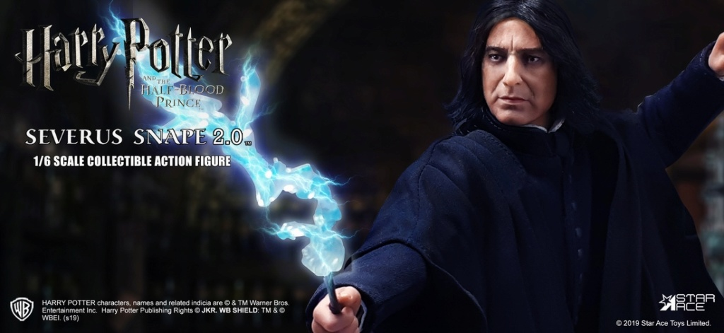 "2 - NEW PRODUCT: STAR ACE Toys: 1/6 ""Harry Potter and the Half-Blood Prince"" - Snape 2.0 & Head Carved Edition 12335810"