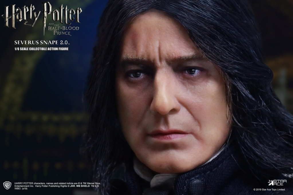 "2 - NEW PRODUCT: STAR ACE Toys: 1/6 ""Harry Potter and the Half-Blood Prince"" - Snape 2.0 & Head Carved Edition 12340011"