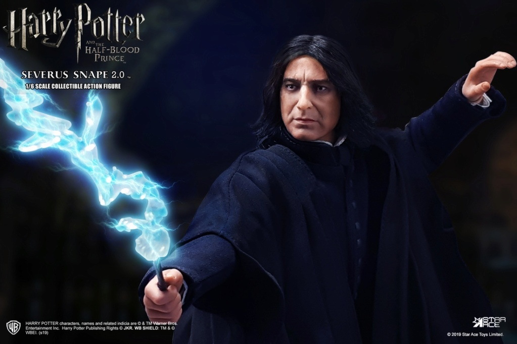 "male - NEW PRODUCT: STAR ACE Toys: 1/6 ""Harry Potter and the Half-Blood Prince"" - Snape 2.0 & Head Carved Edition 12340310"