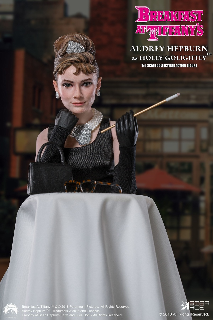 "NEW PRODUCT: STAR ACE Toys New: 1/6 ""Breakfast at Tiffanys"" - Audrey Hepburn AUDREY HEPBURN Special Edition 2 12393510"