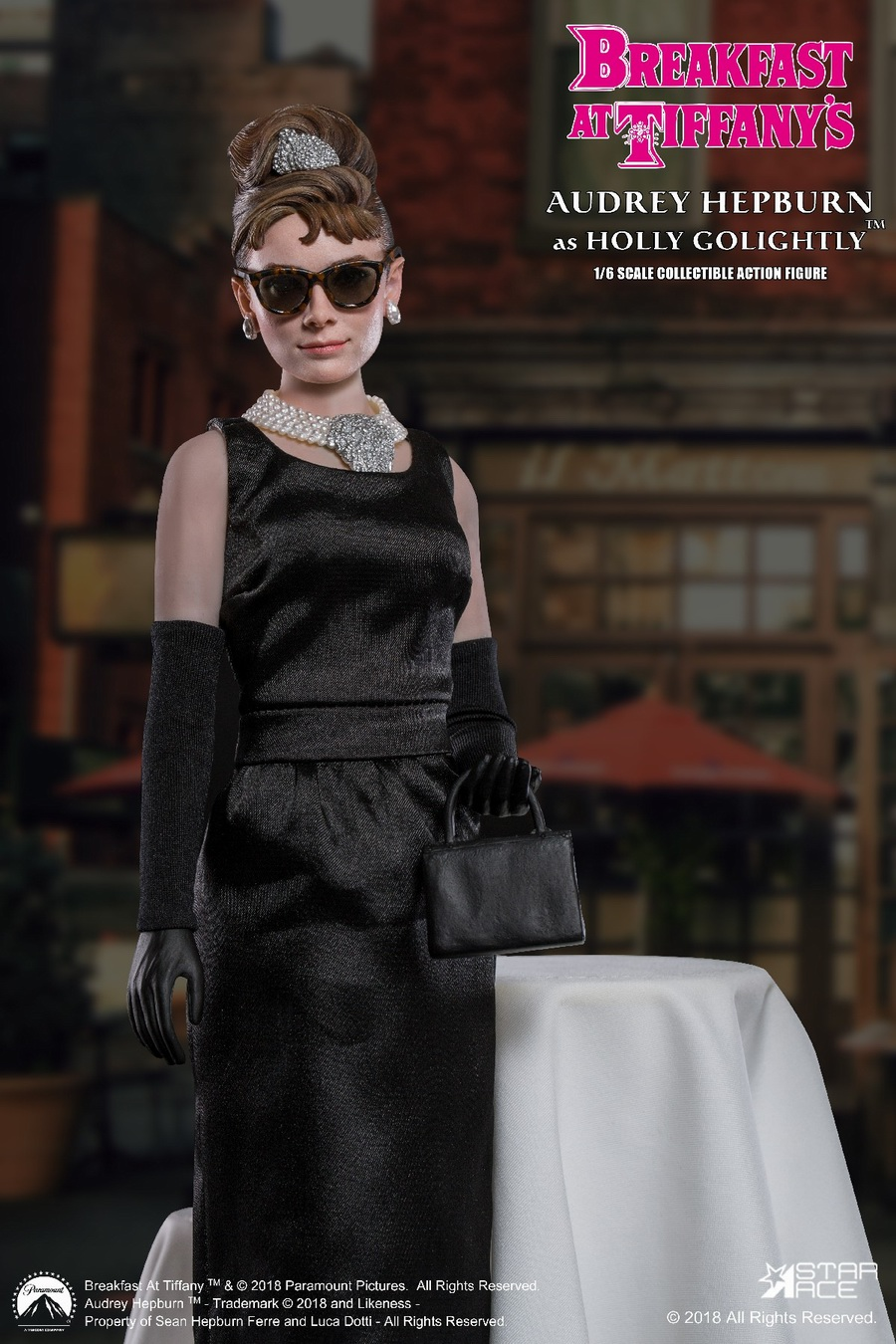 "NEW PRODUCT: STAR ACE Toys New: 1/6 ""Breakfast at Tiffanys"" - Audrey Hepburn AUDREY HEPBURN Special Edition 2 12393610"