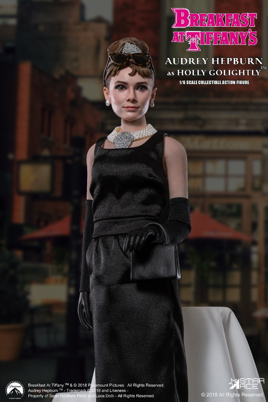 "NEW PRODUCT: STAR ACE Toys New: 1/6 ""Breakfast at Tiffanys"" - Audrey Hepburn AUDREY HEPBURN Special Edition 2 12393710"