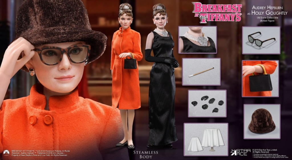 "NEW PRODUCT: STAR ACE Toys New: 1/6 ""Breakfast at Tiffanys"" - Audrey Hepburn AUDREY HEPBURN Special Edition 2 12393810"