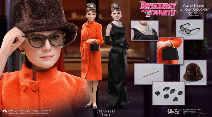 "NEW PRODUCT: STAR ACE Toys New: 1/6 ""Breakfast at Tiffanys"" - Audrey Hepburn AUDREY HEPBURN Special Edition 2 12463710"