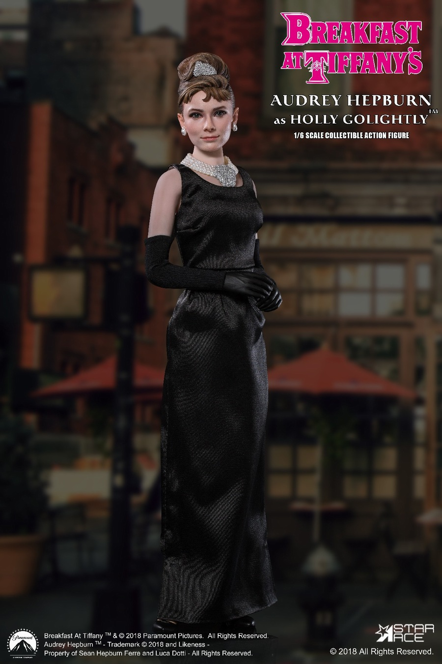 "NEW PRODUCT: STAR ACE Toys New: 1/6 ""Breakfast at Tiffanys"" - Audrey Hepburn AUDREY HEPBURN Special Edition 2 12465610"
