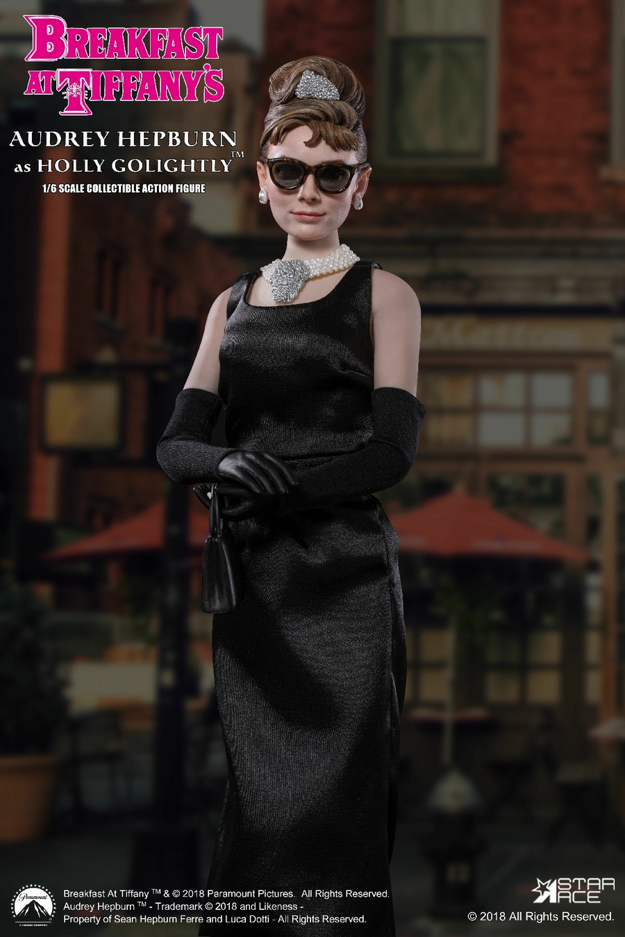 "NEW PRODUCT: STAR ACE Toys New: 1/6 ""Breakfast at Tiffanys"" - Audrey Hepburn AUDREY HEPBURN Special Edition 2 12472310"