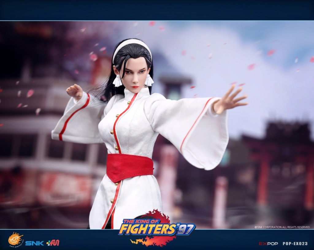 videogame - NEW PRODUCT: POPTOYS: EX023 1/6 King of Fighters KOF97 - Kagura Thousand Cranes 12552510