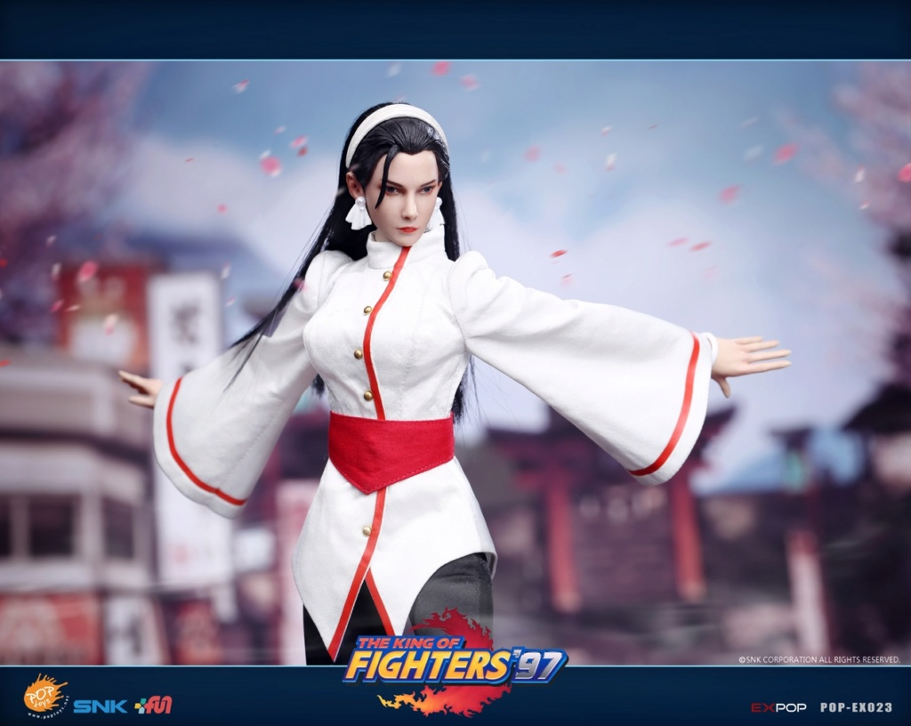 videogame - NEW PRODUCT: POPTOYS: EX023 1/6 King of Fighters KOF97 - Kagura Thousand Cranes 12552610