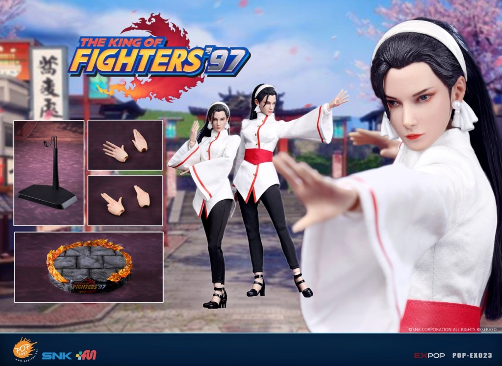 videogame - NEW PRODUCT: POPTOYS: EX023 1/6 King of Fighters KOF97 - Kagura Thousand Cranes 12553710