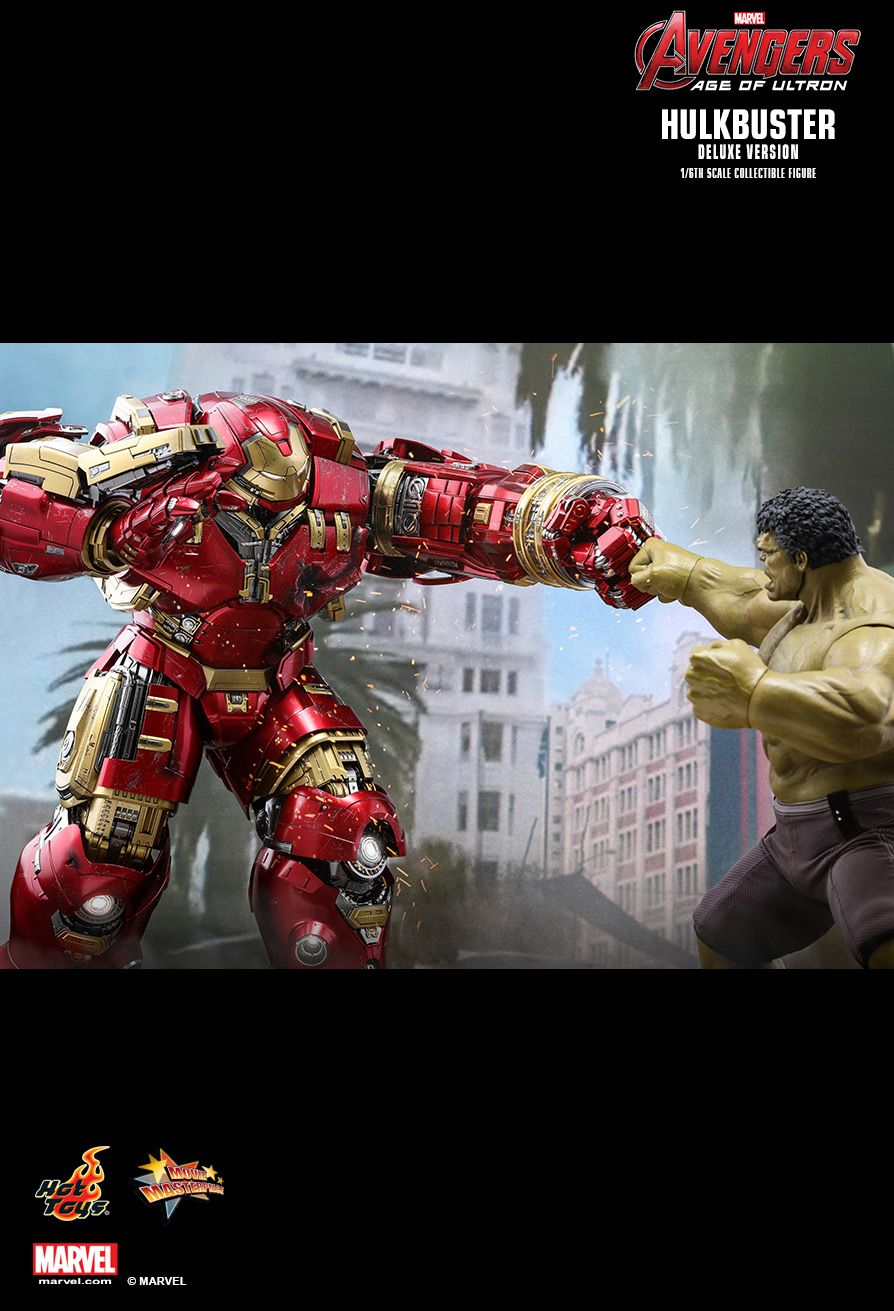 NEW PRODUCT: HOT TOYS: AVENGERS: AGE OF ULTRON HULKBUSTER (DELUXE VERSION) 1/6TH SCALE COLLECTIBLE FIGURE 1256