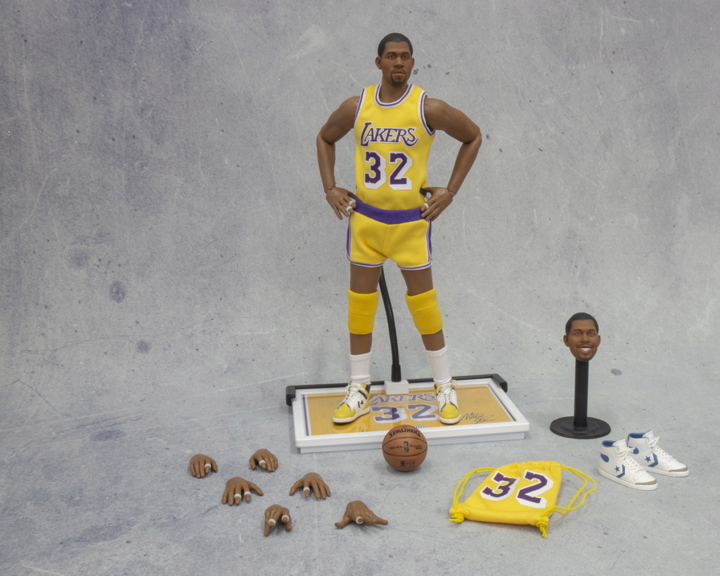 basketball - NEW PRODUCT: FigureCool: 1/6 Magic Johnson [new development body] movable doll 12583210