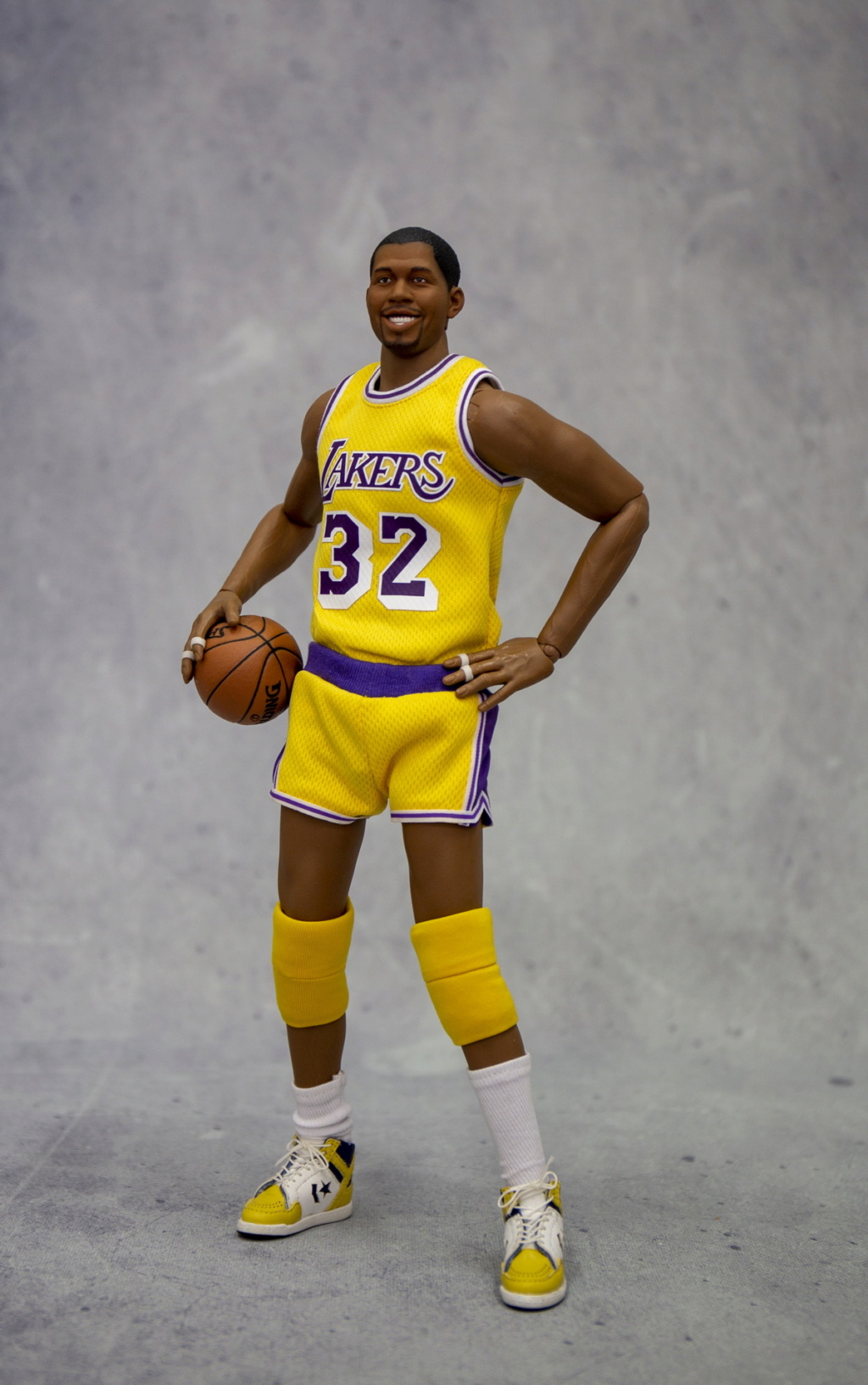 basketball - NEW PRODUCT: FigureCool: 1/6 Magic Johnson [new development body] movable doll 12590410