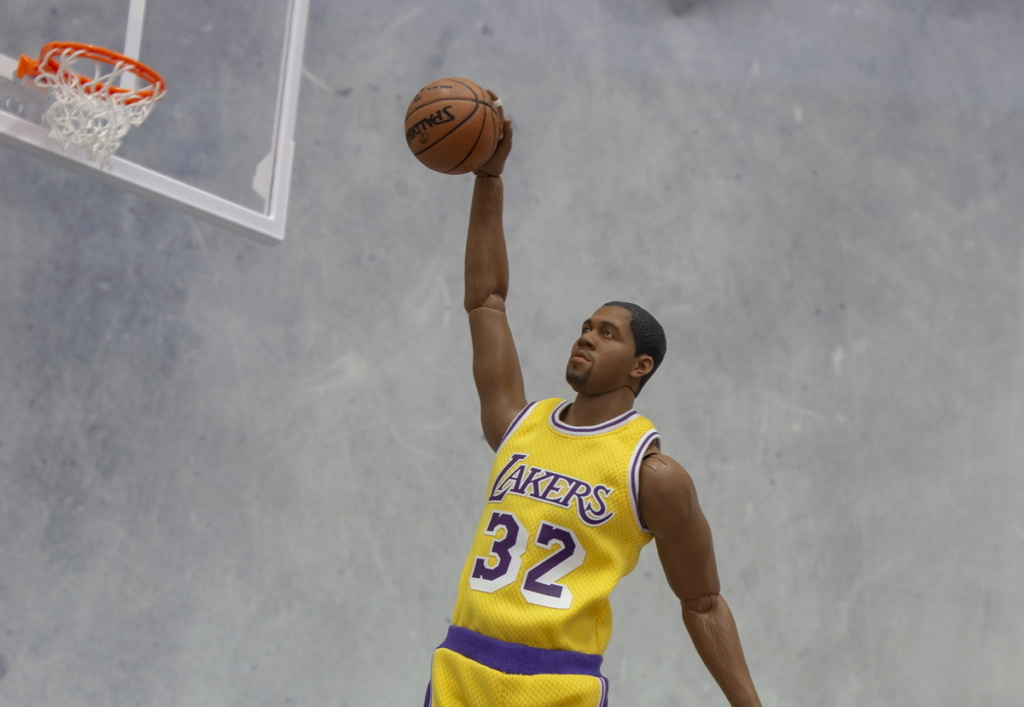 basketball - NEW PRODUCT: FigureCool: 1/6 Magic Johnson [new development body] movable doll 12591210