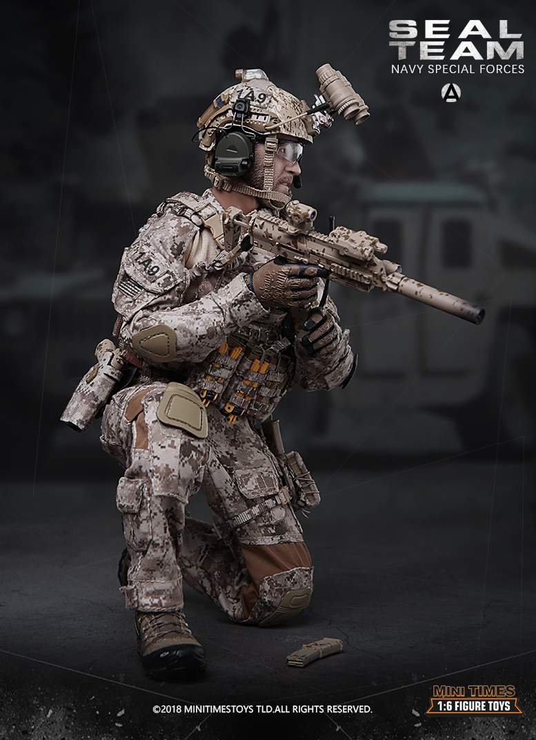 minitimes - NEW PRODUCT: MINI TIMES TOYS US NAVY SEAL TEAM SPECIAL FORCES 1/6 SCALE ACTION FIGURE MT-M012 1262