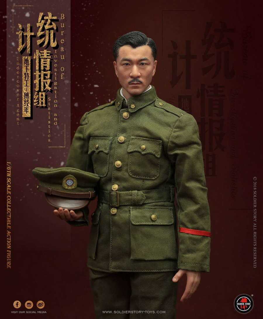 SoldierStory - NEW PRODUCT: SoldierStory new product: 1/6 World War II statistical intelligence group underground agent Fu Jingian - Shanghai 1942 (SS113#) 1266