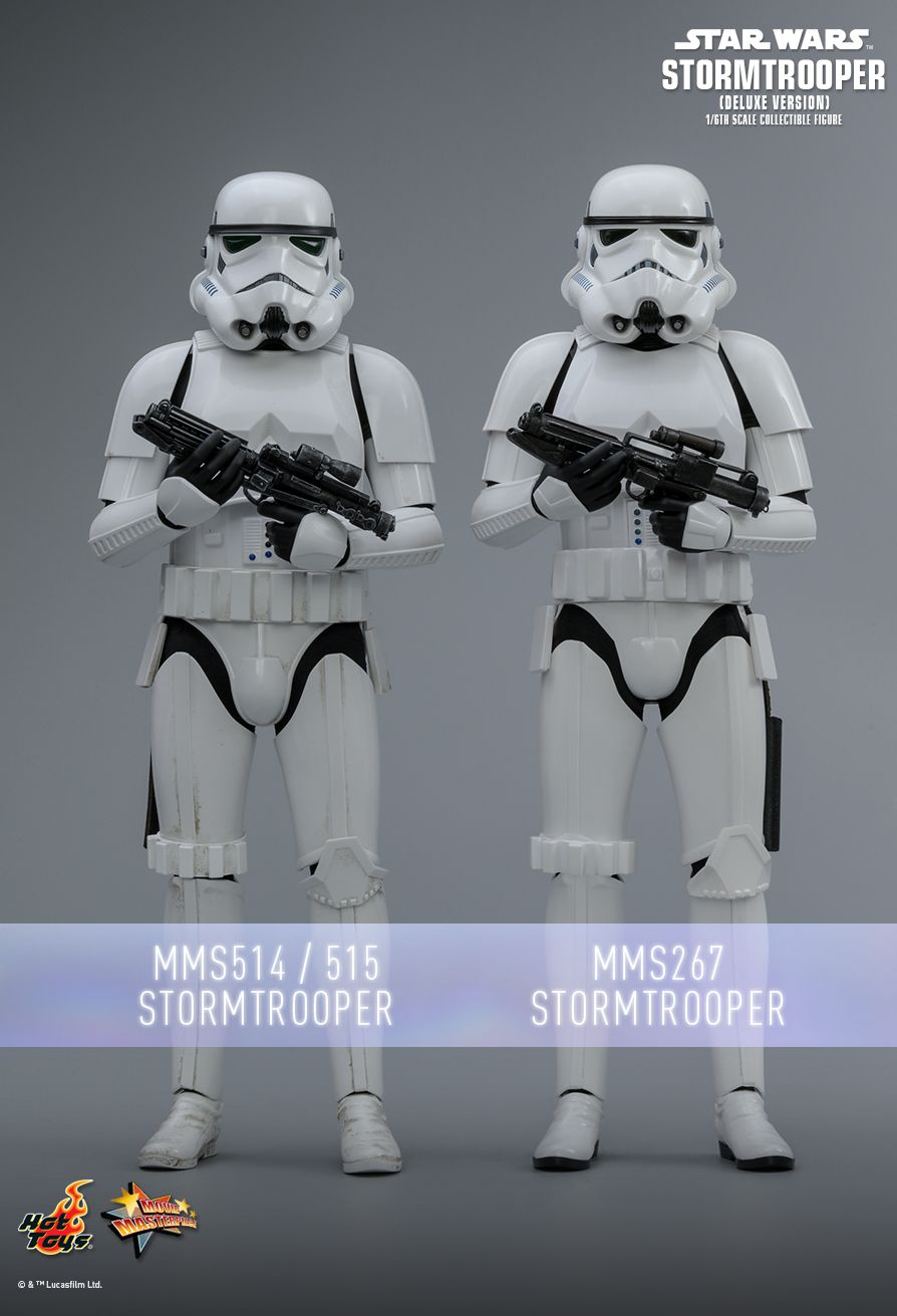 stormtrooper - NEW PRODUCT: HOT TOYS: STAR WARS STORMTROOPER (DELUXE VERSION) 1/6TH SCALE COLLECTIBLE FIGURE 1277