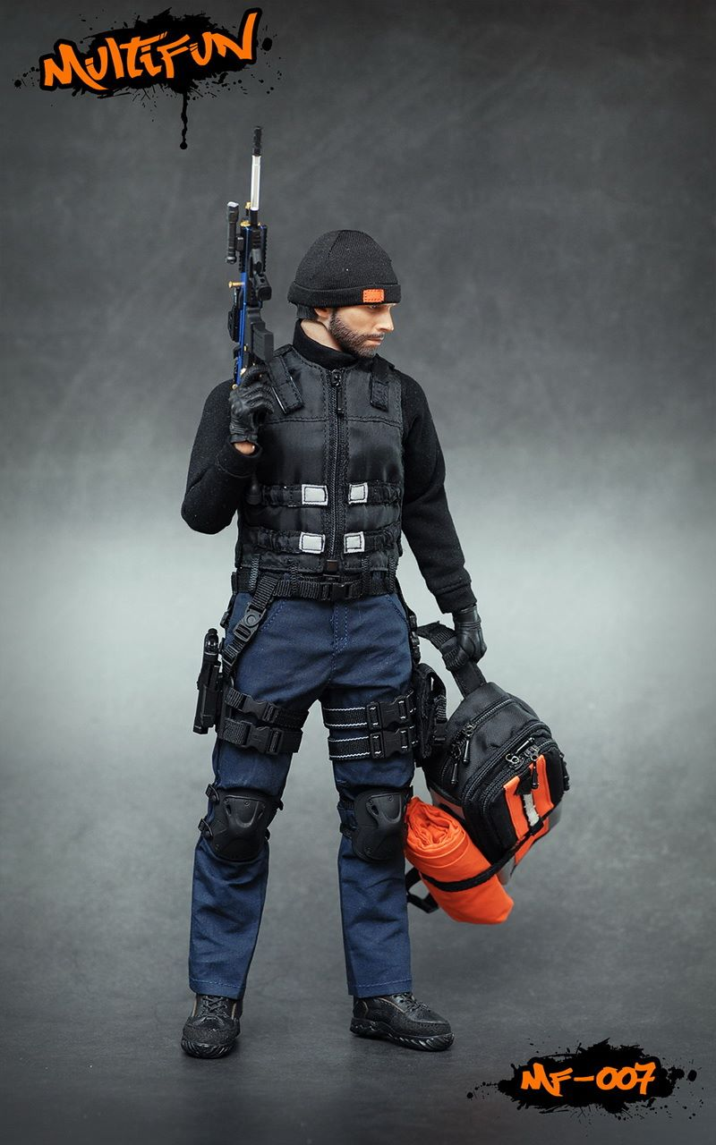 NEW PRODUCT: MULTIFUN 1/6th scale Quarantine Zone Agent 12-inch action figure Set 1288