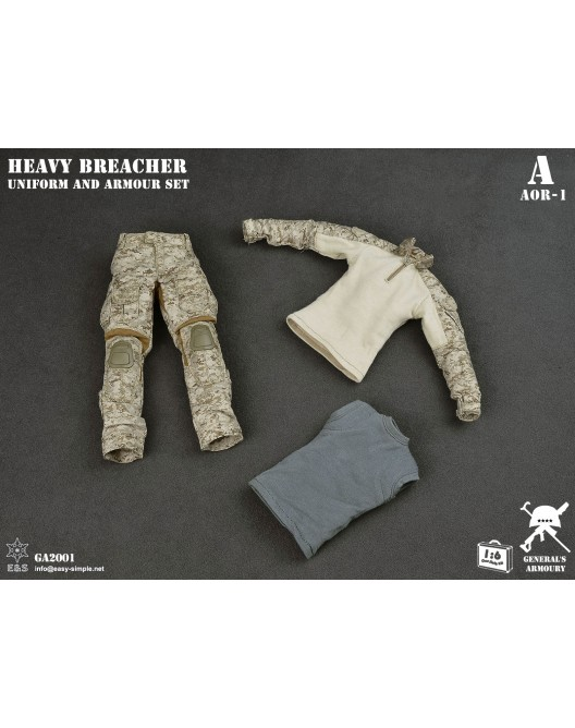 General - NEW PRODUCT: General's Armoury GA2001 1/6 Scale Heavy Breacher Uniform and Armour Set 13-52811