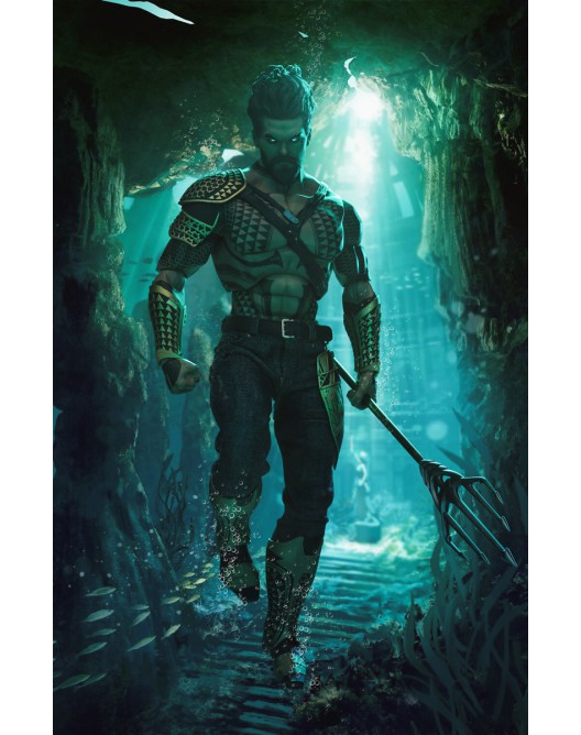 NEW PRODUCT: Art Figure AI-005 1/6 Scale King of Atlantis ATLAS 13-52816