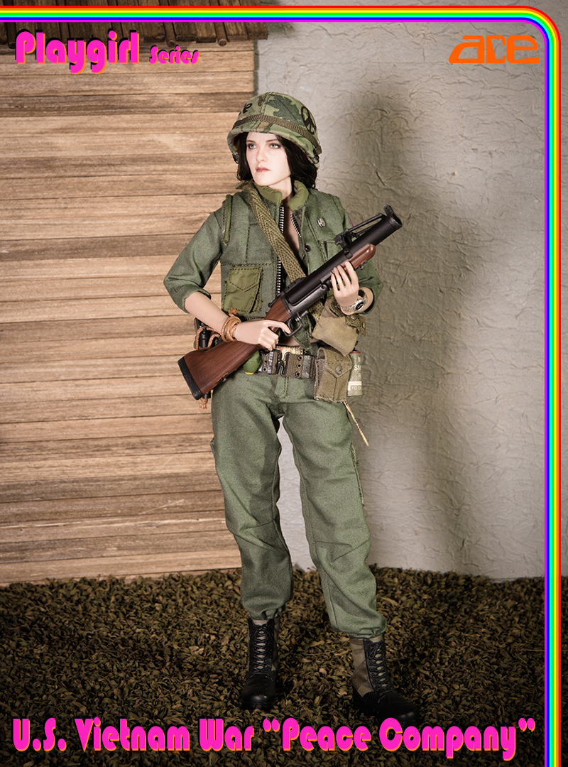 "NEW PRODUCT: ACE: Playgirl Series 13034 U.S. Vietnam War ""Peace Company"" 13034011"