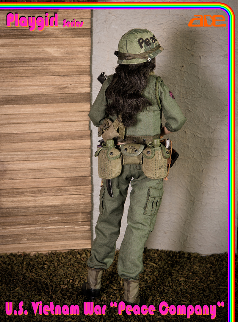 "NEW PRODUCT: ACE: Playgirl Series 13034 U.S. Vietnam War ""Peace Company"" 13034014"