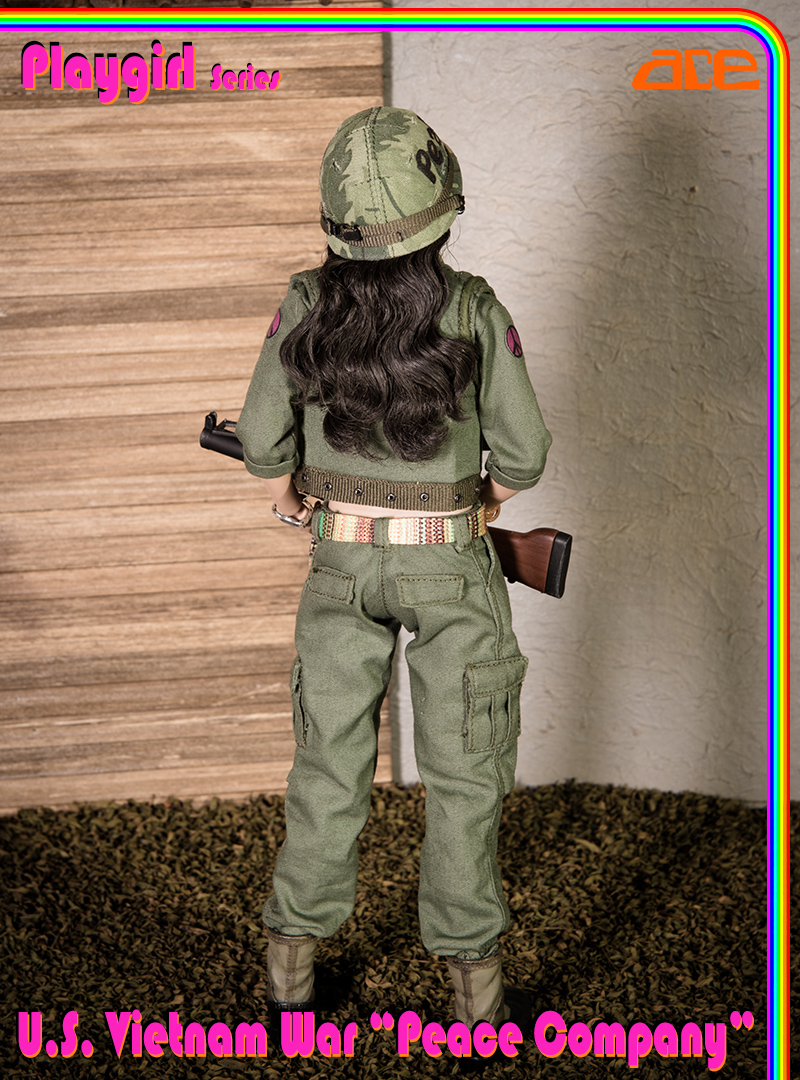 "NEW PRODUCT: ACE: Playgirl Series 13034 U.S. Vietnam War ""Peace Company"" 13034015"