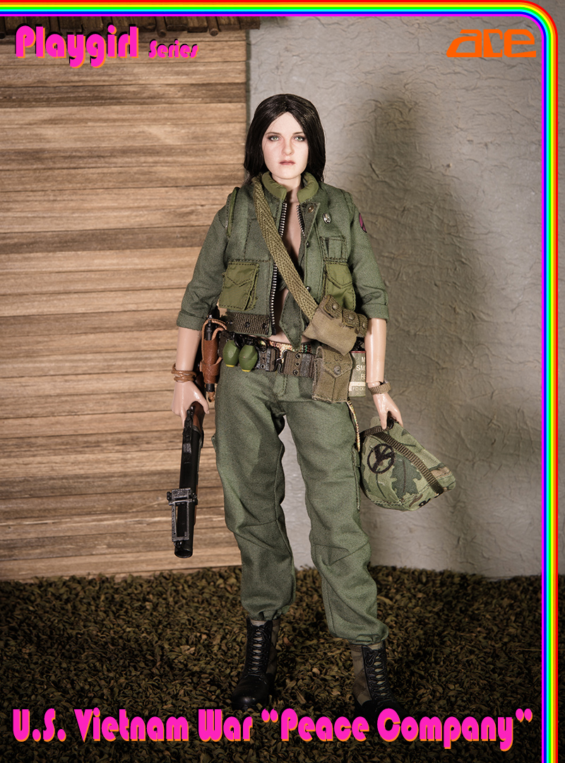 "NEW PRODUCT: ACE: Playgirl Series 13034 U.S. Vietnam War ""Peace Company"" 13034016"