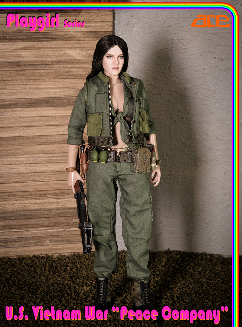 "NEW PRODUCT: ACE: Playgirl Series 13034 U.S. Vietnam War ""Peace Company"" 13034017"