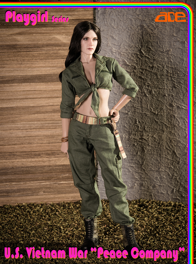 "NEW PRODUCT: ACE: Playgirl Series 13034 U.S. Vietnam War ""Peace Company"" 13034019"