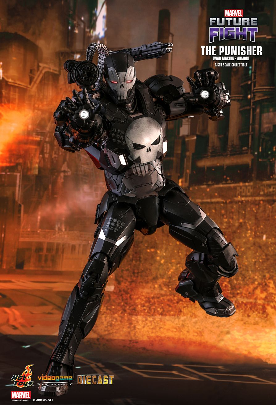 Videogame - NEW PRODUCT: HOT TOYS: MARVEL FUTURE FIGHT THE PUNISHER (WAR MACHINE ARMOR) 1/6TH SCALE COLLECTIBLE FIGURE 1304