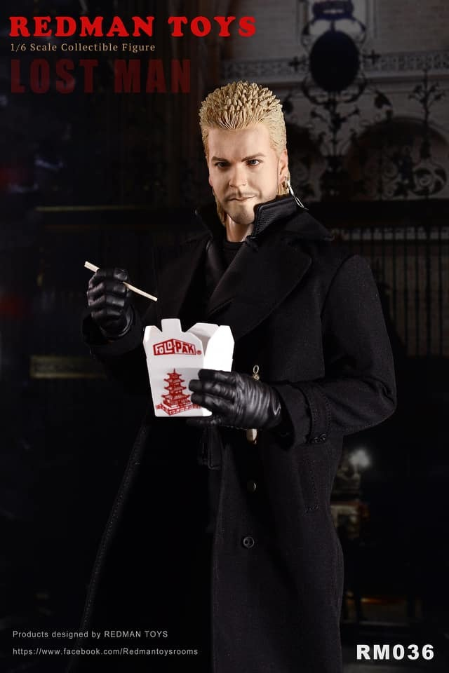 NEW PRODUCT: [RMT-036] The Lost Man 1:6 Collectible Figure by Redman 1305