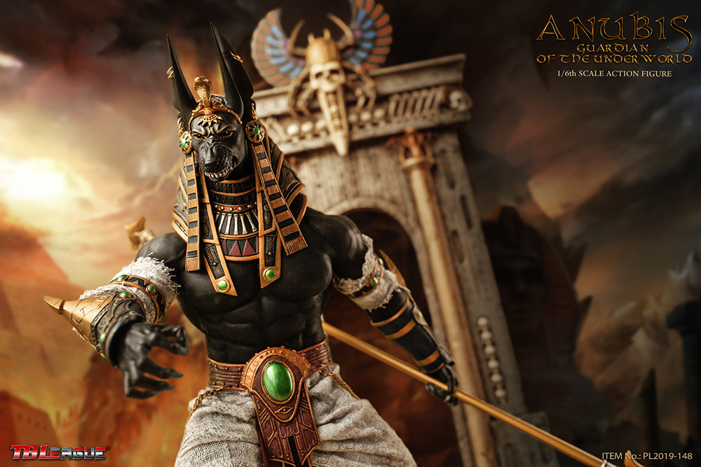 NEW PRODUCT: TBLeague: 1/6 The God of the Underworld - Anubis/Anubis Movable (PL2019-148) 13084510