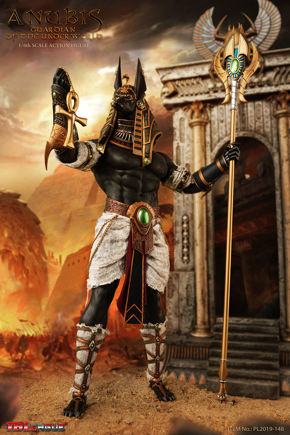 NEW PRODUCT: TBLeague: 1/6 The God of the Underworld - Anubis/Anubis Movable (PL2019-148) 13090510