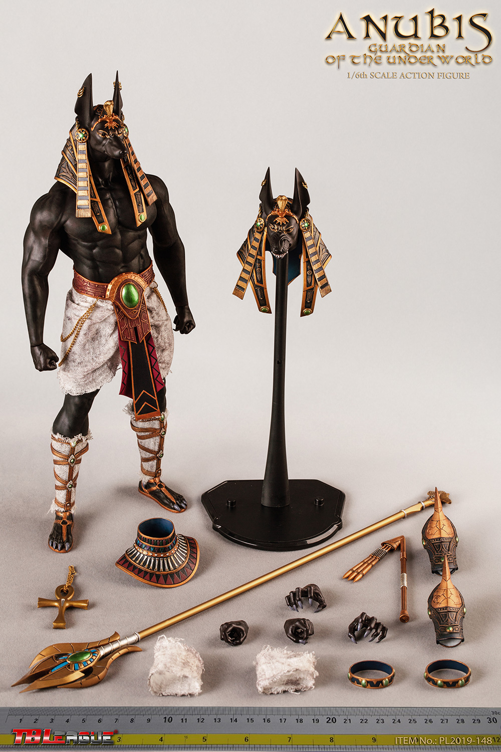 NEW PRODUCT: TBLeague: 1/6 The God of the Underworld - Anubis/Anubis Movable (PL2019-148) 13094310