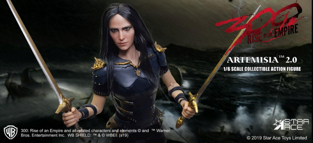 "NEW PRODUCT: Star Ace Toys: 1/6 ""300 Warriors: The Rise of the Empire"" - Female General Artemisia 2.0 (SA0045S) 13112410"