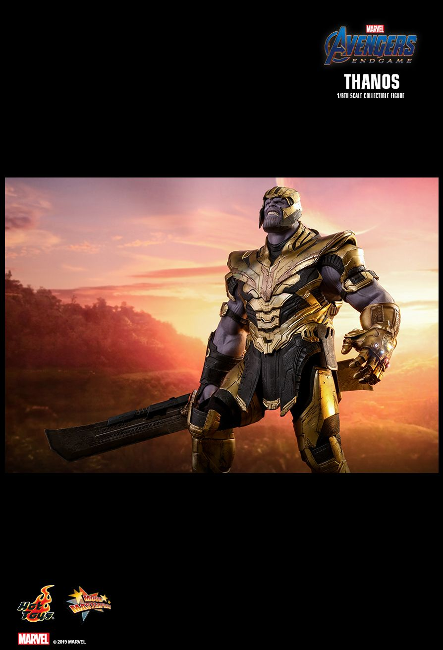 Thanos - NEW PRODUCT: HOT TOYS: AVENGERS: ENDGAME THANOS 1/6TH SCALE COLLECTIBLE FIGURE 13117