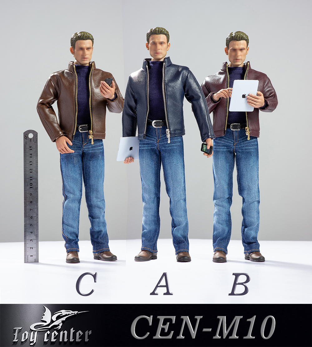 clothes - NEW PRODUCT: Toy center: 1/6 US team trend leather suit - a total of three colors A / B / C (CEN-M10 #) 13121410