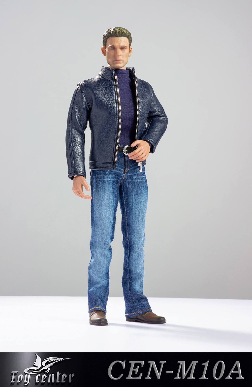 clothes - NEW PRODUCT: Toy center: 1/6 US team trend leather suit - a total of three colors A / B / C (CEN-M10 #) 13121610