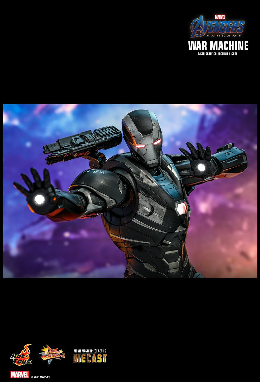 WarMachine - NEW PRODUCT: HOT TOYS: AVENGERS: ENDGAME WAR MACHINE 1/6TH SCALE COLLECTIBLE FIGURE 13122