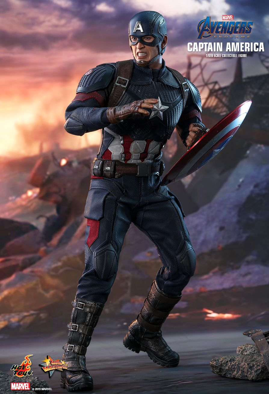 captainamerica - NEW PRODUCT: HOT TOYS: AVENGERS: ENDGAME CAPTAIN AMERICA 1/6TH SCALE COLLECTIBLE FIGURE 13127