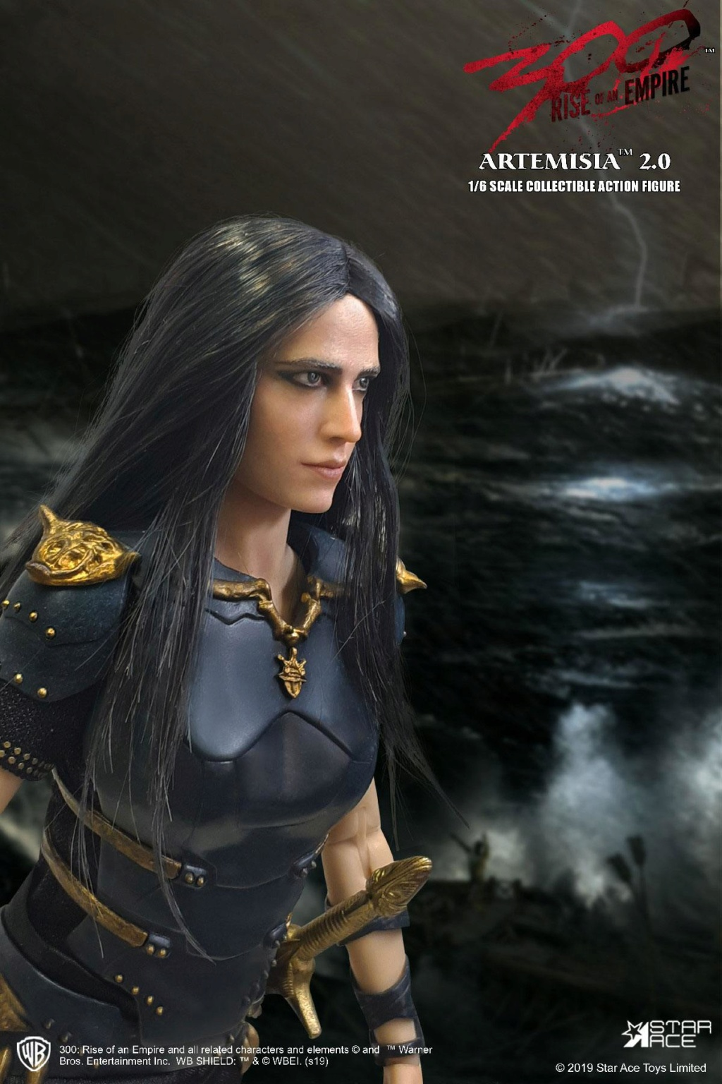 "NEW PRODUCT: Star Ace Toys: 1/6 ""300 Warriors: The Rise of the Empire"" - Female General Artemisia 2.0 (SA0045S) 13134010"