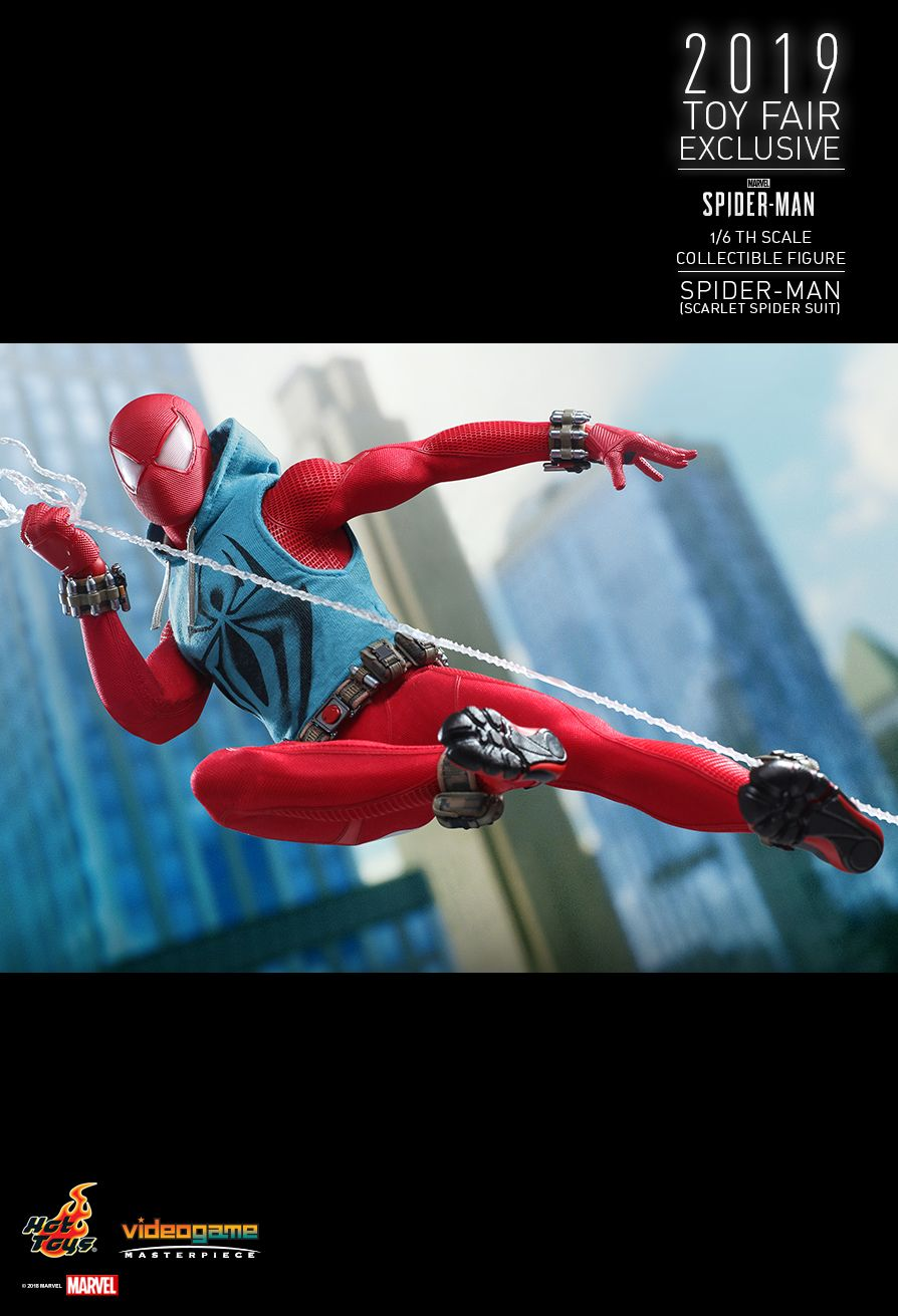 marvel - NEW PRODUCT: HOT TOYS: MARVEL'S SPIDER-MAN SPIDER-MAN (SCARLET SPIDER SUIT) 1/6TH SCALE COLLECTIBLE FIGURE 13139
